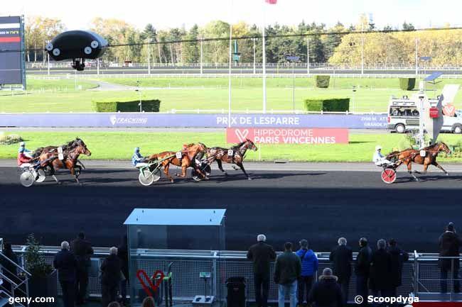 04/11/2019 - Vincennes - Prix de Lesparre : Arrivée