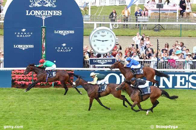 16/06/2019 - Chantilly - Prix Paul de Moussac Longines : Arrivée