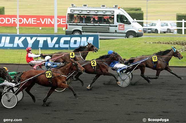 10/02/2011 - Vincennes - Prix Jean Le Gonidec : Arrivée