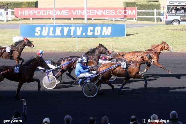 21/02/2012 - Vincennes - Prix du Chesnay : Arrivée