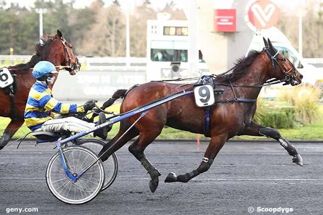 17/01/2021 - Vincennes - Prix de Riberac : Arrivée