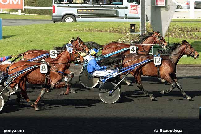22/02/2011 - Vincennes - Prix de Challans : Arrivée