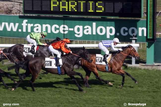 07/03/2011 - Saint-Cloud - Handicap de l'Ile-de-France : Arrivée