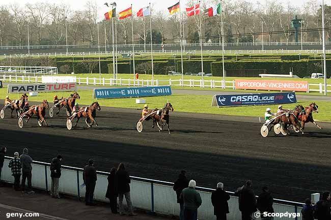 22/02/2011 - Vincennes - Prix du Chesnay : Arrivée