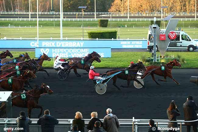 16/01/2020 - Vincennes - Prix d'Erbray : Arrivée