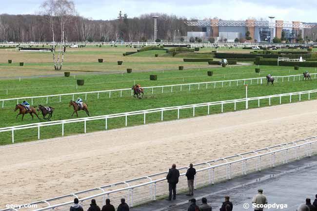 19/01/2016 - Pau - Prix Auguste de Castelbajac : Arrivée