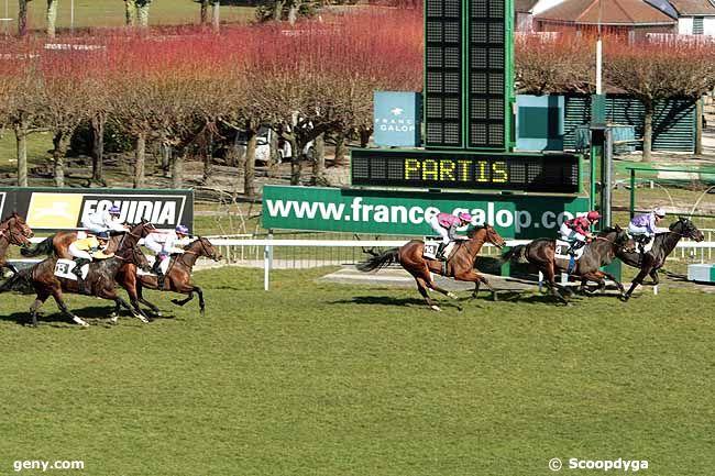 08/03/2010 - Saint-Cloud - Handicap de l'Ile-de-France : Arrivée