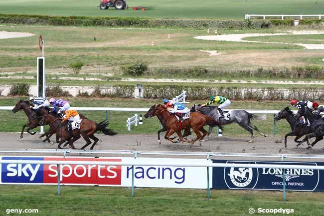 01/08/2020 - Deauville - Prix de la Villa Lucie : Arrivée