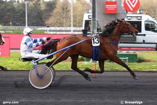 09/04/2019 - Vincennes - Prix Coelestina : Arrivée