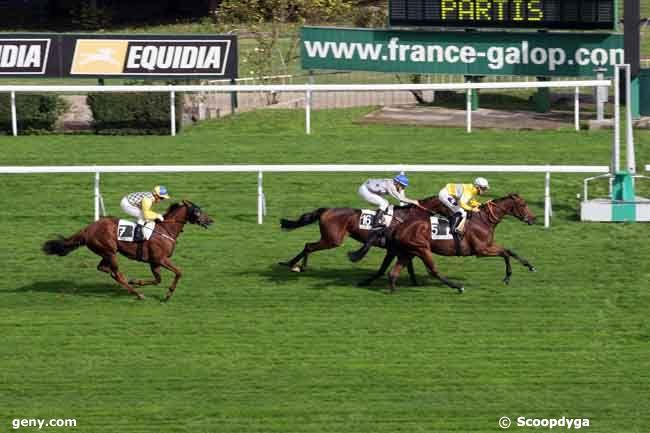 07/10/2010 - Saint-Cloud - Prix du Val-d'Oise : Arrivée