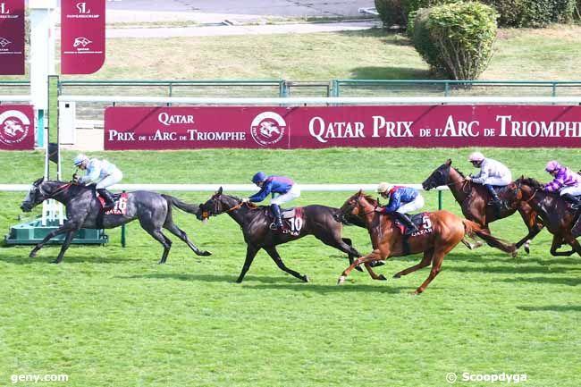 12/09/2021 - ParisLongchamp - Qatar Handicap des Arc Trials : Arrivée