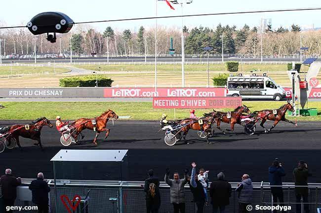 19/02/2019 - Vincennes - Prix du Chesnay : Arrivée