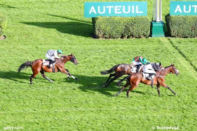 11/09/2019 - Auteuil - Prix Xanthor : Arrivée