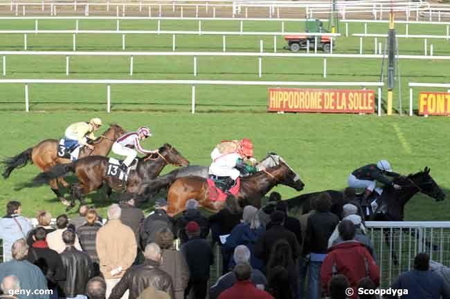13/11/2008 - Fontainebleau - Prix de la Brie : Arrivée