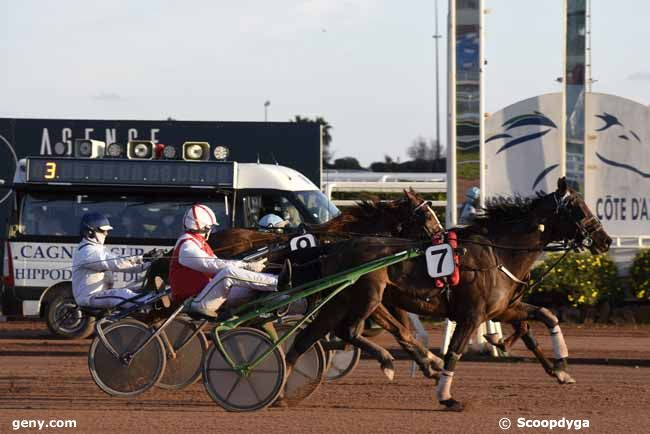 14/01/2021 - Cagnes-sur-Mer - Prix Pierre Bocquet : Arrivée