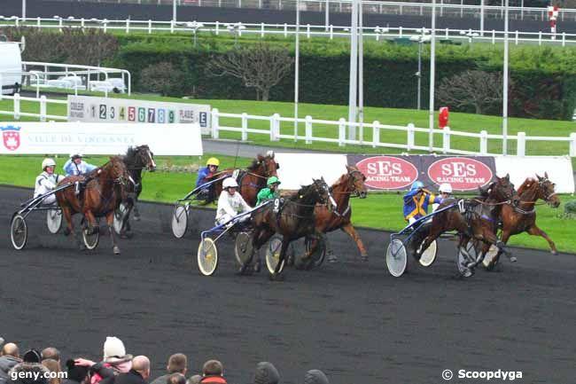21/12/2014 - Vincennes - Critérium Continental : Arrivée