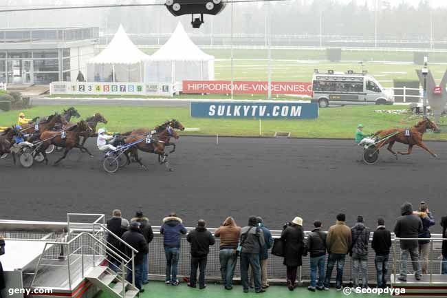 24/01/2013 - Vincennes - Prix de la Thiérache : Arrivée