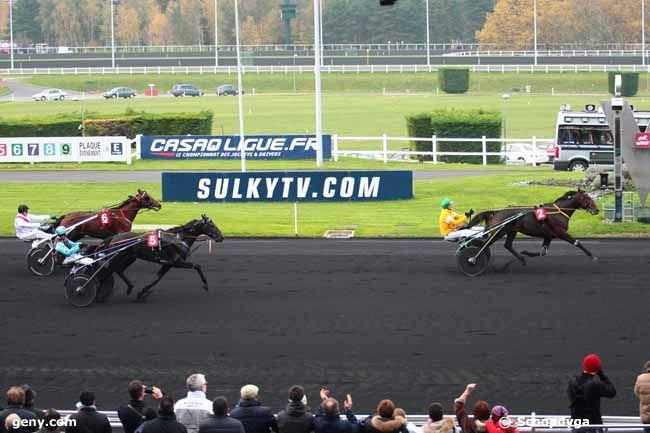 16/11/2013 - Vincennes - Prix de Bretagne : Arrivée