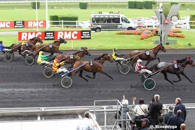 14/09/2013 - Vincennes - Prix de Moulins-la-Marche - Prix RMC : Arrivée