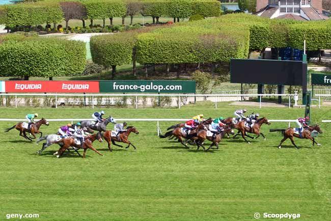 18/04/2019 - Saint-Cloud - Prix des Hauts-de-Seine : Arrivée