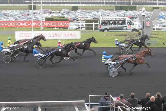 13/02/2011 - Vincennes - Prix de Juvigny : Arrivée