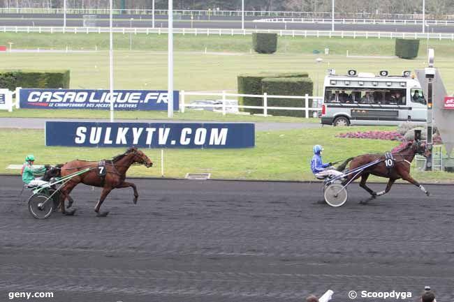 18/02/2014 - Vincennes - Prix du Chesnay : Arrivée