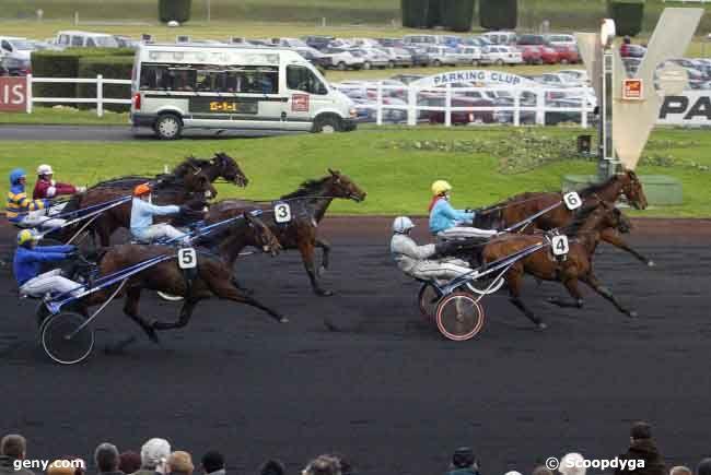 21/12/2008 - Vincennes - Critérium Continental : Arrivée