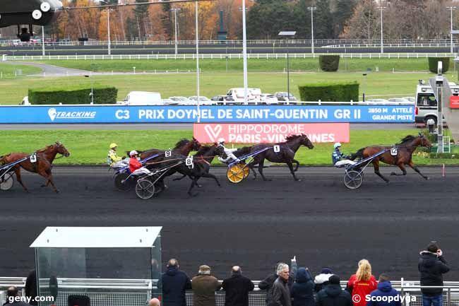 30/11/2019 - Vincennes - Prix Doynel de Saint-Quentin : Arrivée