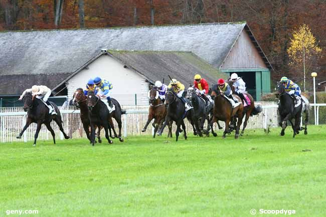 17/11/2016 - Fontainebleau - Prix Hubert de Catheu : Arrivée