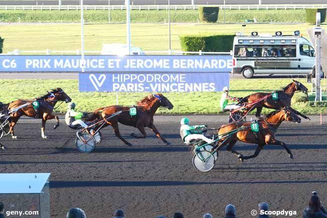 06/02/2020 - Vincennes - Prix Maurice et Jerôme Bernardet : Arrivée