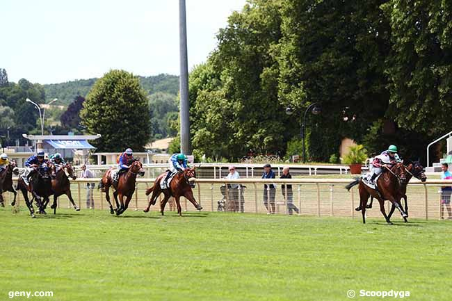 18/07/2019 - Vichy - Prix Burgos : Arrivée