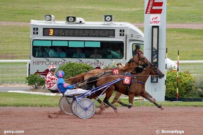 13/08/2019 - Enghien - Prix de la Porte de Passy : Arrivée