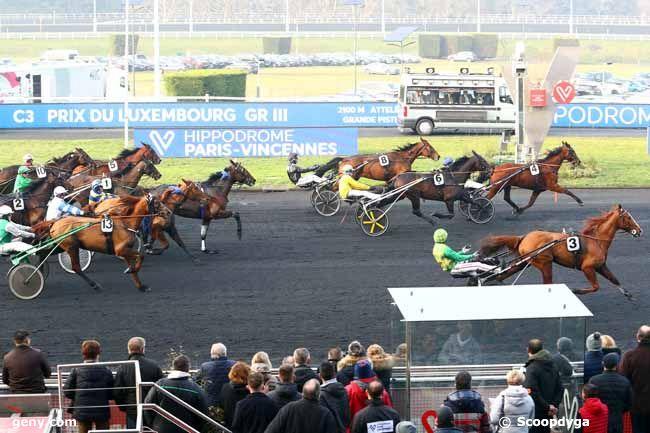 25/01/2020 - Vincennes - Prix du Luxembourg : Arrivée
