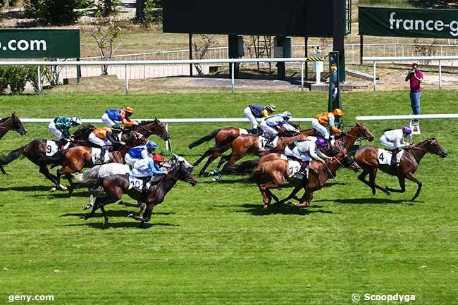 13/07/2020 - Saint-Cloud - Prix d'Auxerre : Arrivée