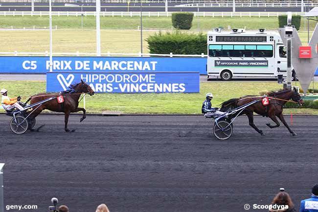 22/02/2021 - Vincennes - Prix de Marcenat : Arrivée