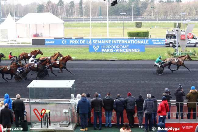 23/01/2020 - Vincennes - Prix de la Semaine Internationale : Arrivée