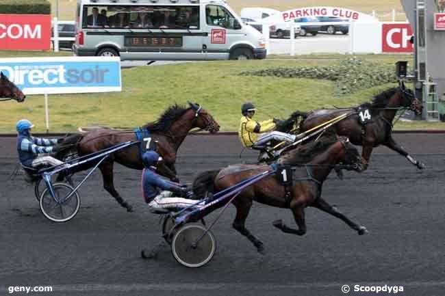 23/02/2010 - Vincennes - Prix de Challans : Arrivée