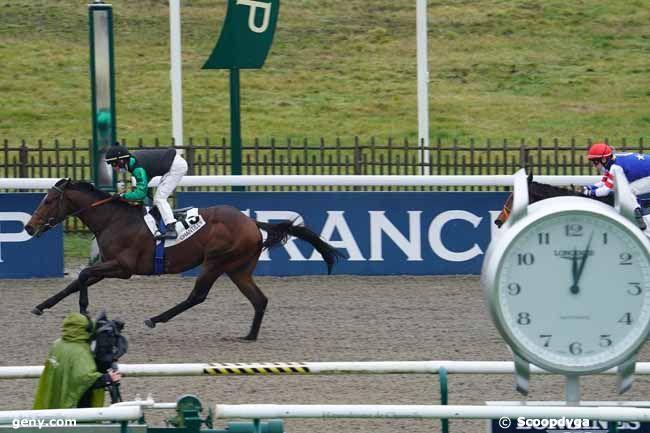 13/01/2021 - Chantilly - Prix Artus : Arrivée
