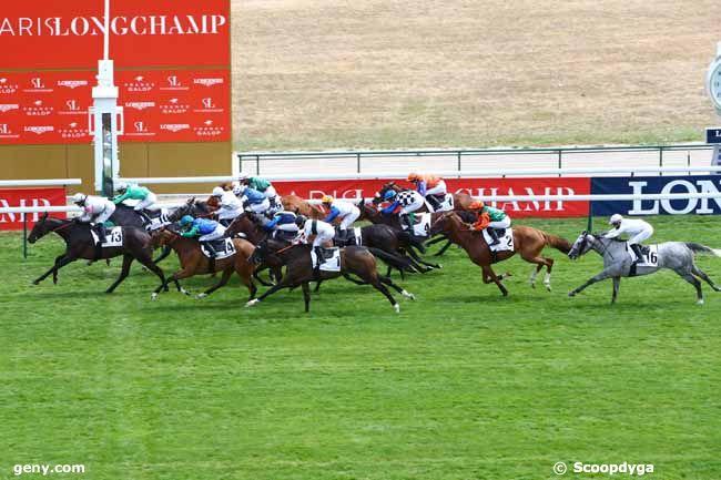 23/07/2020 - ParisLongchamp - Prix de la Vénus de Paris - Grand Prix des Femmes Jockeys : Arrivée