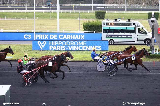 22/02/2021 - Vincennes - Prix de Carhaix : Arrivée
