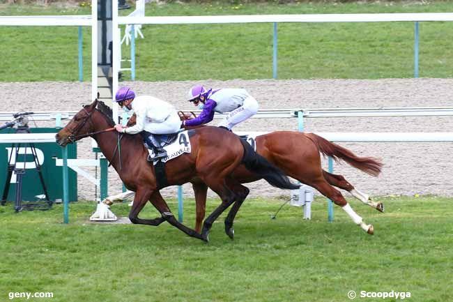 07/04/2021 - Deauville - Prix de Saint-Gatien : Arrivée