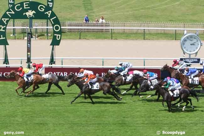 01/07/2012 - Chantilly - Prix des Grandes Ecuries : Arrivée