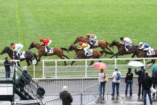 26/07/2015 - Maisons-Laffitte - Prix de Sainte-Anne : Arrivée