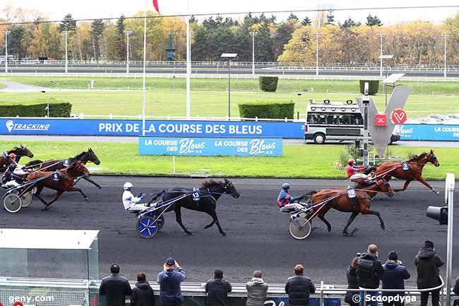 14/11/2019 - Vincennes - Prix de la Course des Bleus : Arrivée
