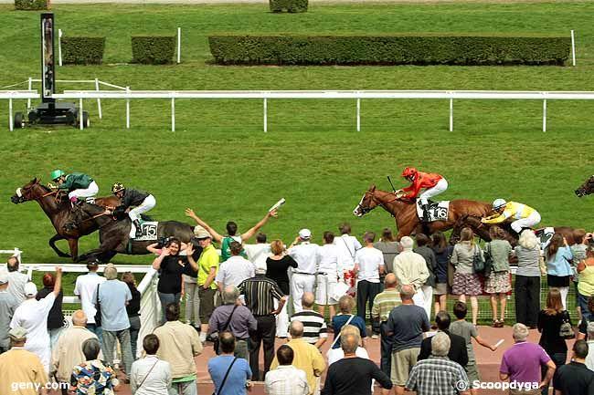 09/08/2010 - Clairefontaine-Deauville - Prix de la Côte Fleurie : Arrivée