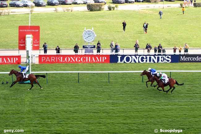 14/04/2019 - ParisLongchamp - Prix de Fontainebleau : Arrivée