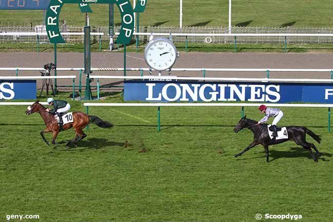 13/10/2021 - Chantilly - Prix de Chanteclerc : Arrivée