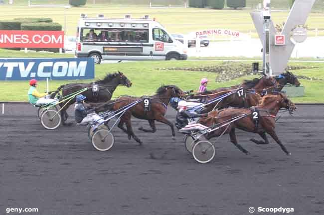 15/02/2011 - Vincennes - Prix de Château-Gontier : Result