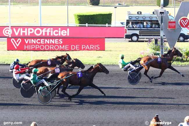 14/09/2019 - Vincennes - Prix de Moulins-la-Marche : Arrivée
