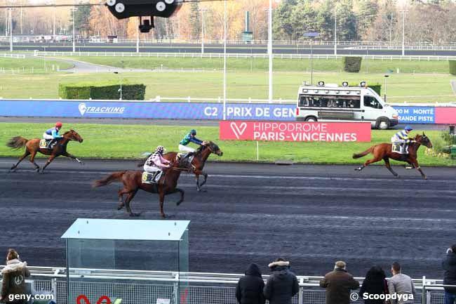 02/12/2019 - Vincennes - Prix de Gensac : Arrivée